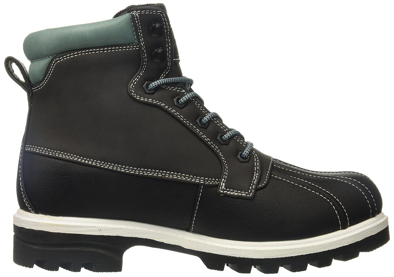 Lugz Women's Mallard Fashion Boot B073JWDM17 5.5 B(M) US|Black/Asphalt/Flourite/White