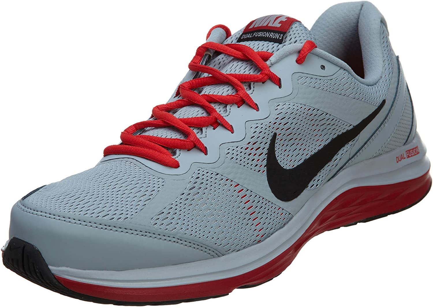 Rancio Proverbio Metro  Amazon.com: Nike Dual Fusion Run 3 Mens estilo: 653619 – 008 Tamaño: 10,5:  Shoes
