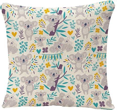 Fashion 18inch Cotton Linen Throw Pillow Case Cushion Cover Home Sofa Decor