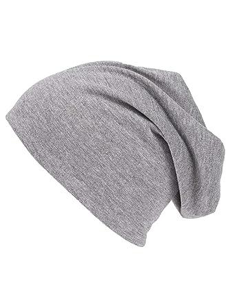 shenky - Bonnet d été de printemps en jersey - fin, long et tombant ... dadac70f35f