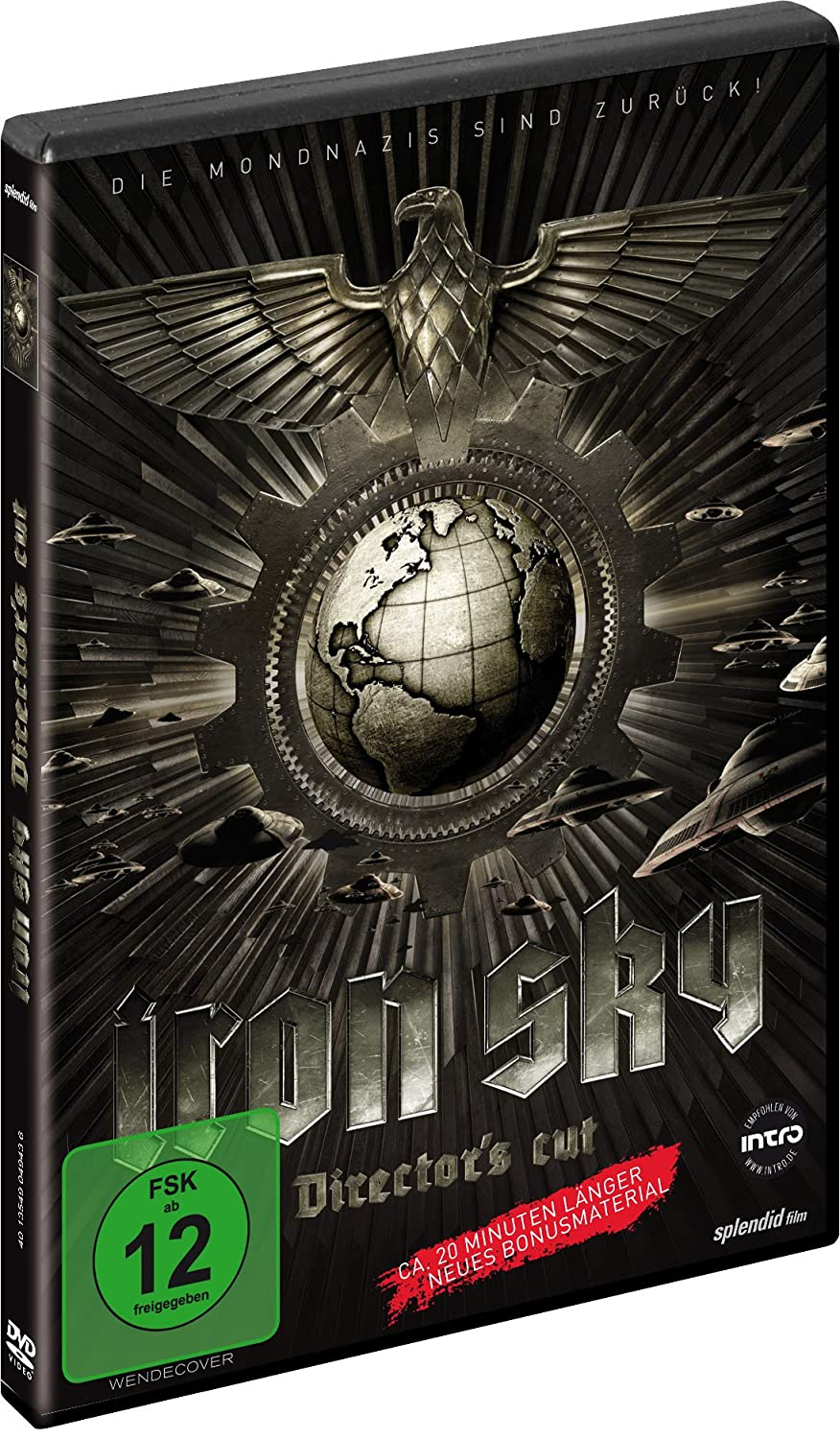 Iron Sky - Wir kommen in Frieden! [Alemania] [DVD]: Amazon.es: Julia Dietze, Götz Otto, Udo Kier, Christopher Kirby, Tilo Prückner, Stephanie Paul, ...