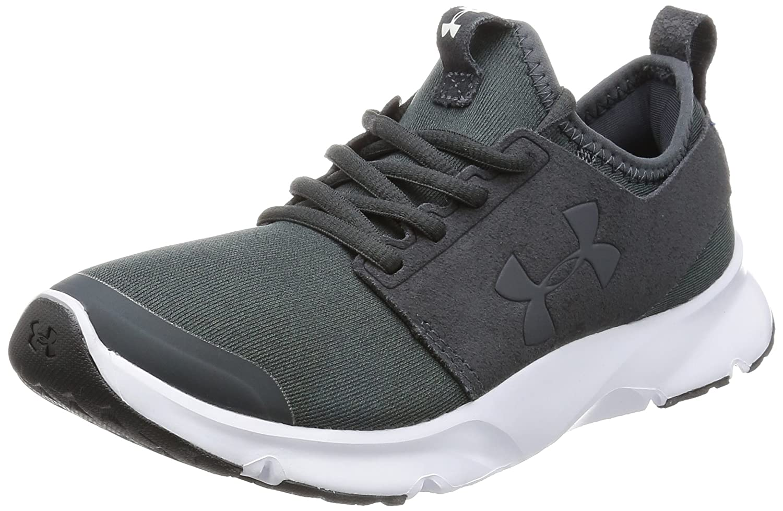 Under Armour Men's Drift Rn Mineral Sneaker B01CGWWFFC 9.5 M US Black (001)/White