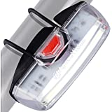 Bike Front Safety Light USB Rechargeable by Apace - Powerful LED Bicycle Headlight to Be Seen w/Bright 200 Lumens Output for