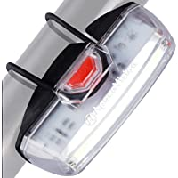Bike Front Safety Light USB Rechargeable by Apace - Powerful LED Bicycle Headlight to Be Seen w/Bright 200 Lumens Output…