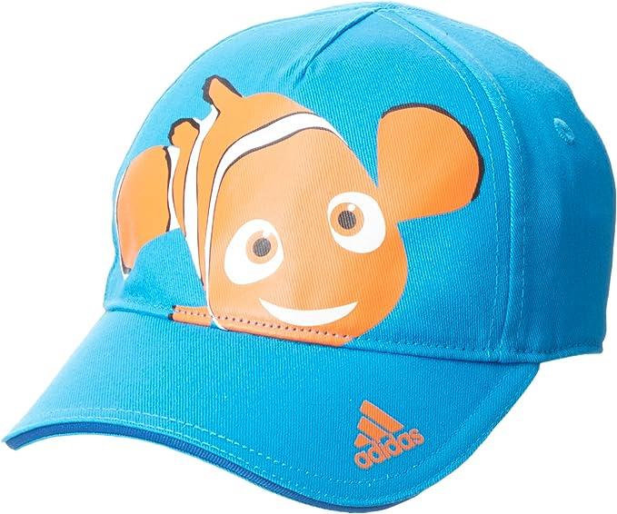 adidas DY LK Cap Nemo - Gorra para niños, Color Azul/Blanco, Talla ...