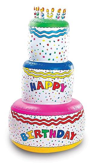 Amazoncom Fun Express Jumbo Happy Birthday Inflatable Birthday