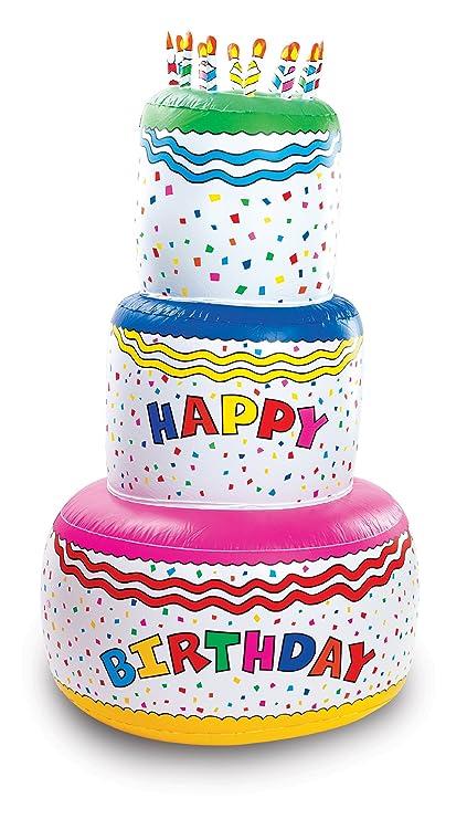 Amazon Fun Express Jumbo Happy Birthday Inflatable Birthday