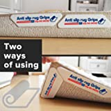 Rug Anchors (16-Pack) Secures Rug Corners/Edges in