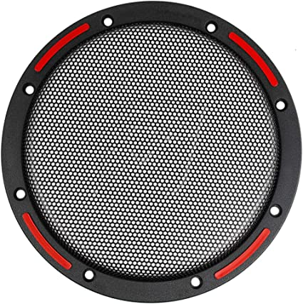 1 Pair 12 SubWoofer Mid Range Metal Mesh Waffle Speaker Grill DJ PA Car Audio