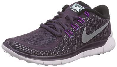 Nike Women s Free 5.0 Flash Running Shoes Purple Size  3 UK e5848c718c