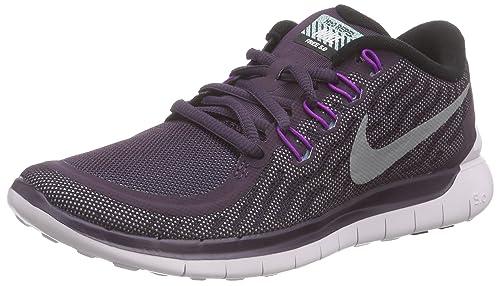 more photos da877 8a877 Nike Women s Free 5.0 Flash Running Shoes, (NBL Reflect Silver VVD Purple  500