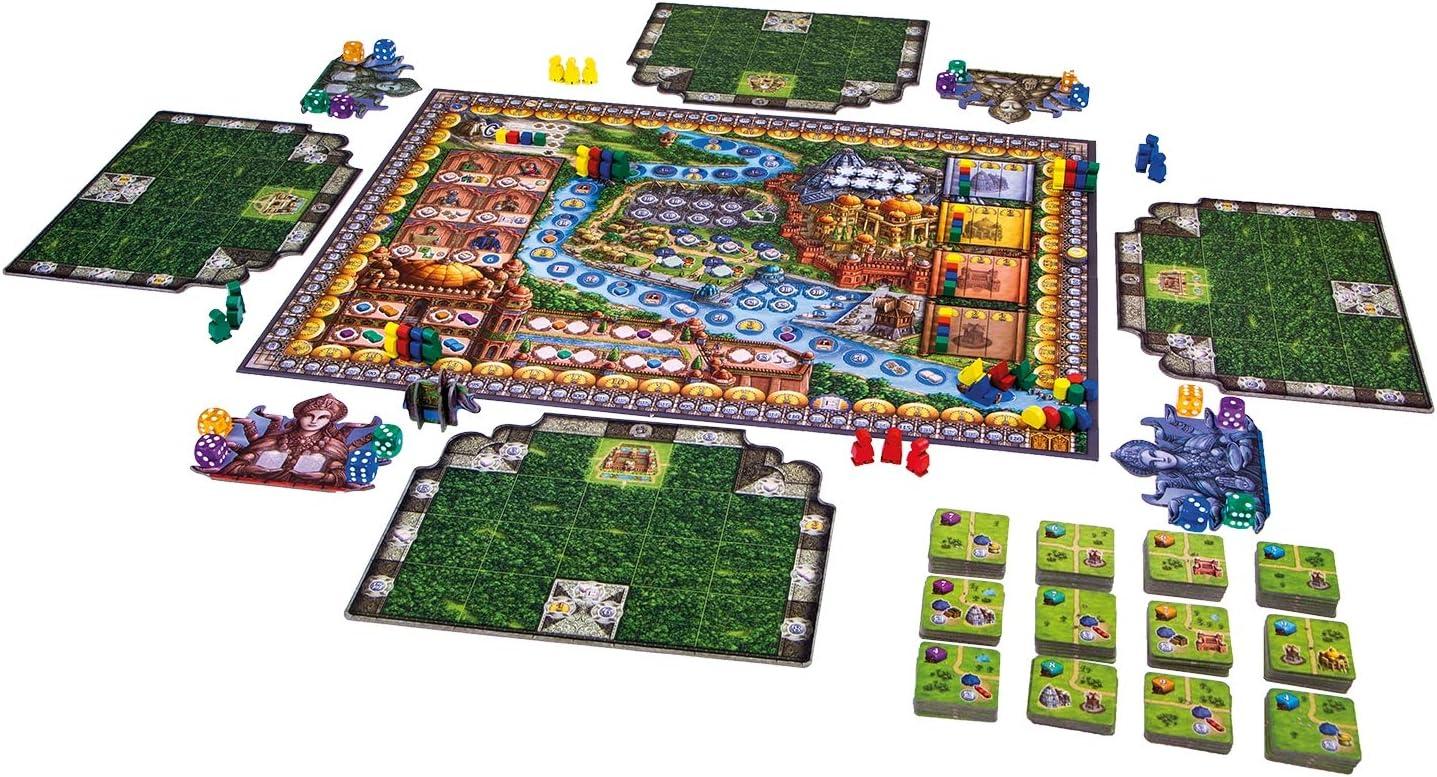 999 Games spel Rajas Van de Ganges: Amazon.es: Juguetes y juegos