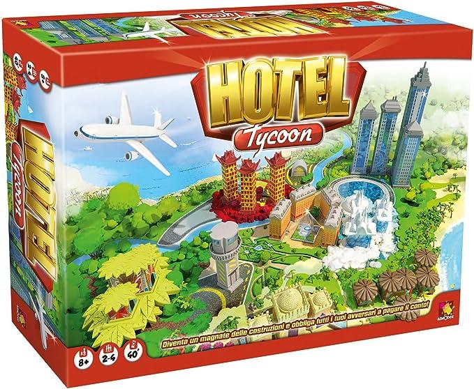 Asterion 8940 – Juegos Hotel Tycoon-[idioma italiano]: Amazon.es ...