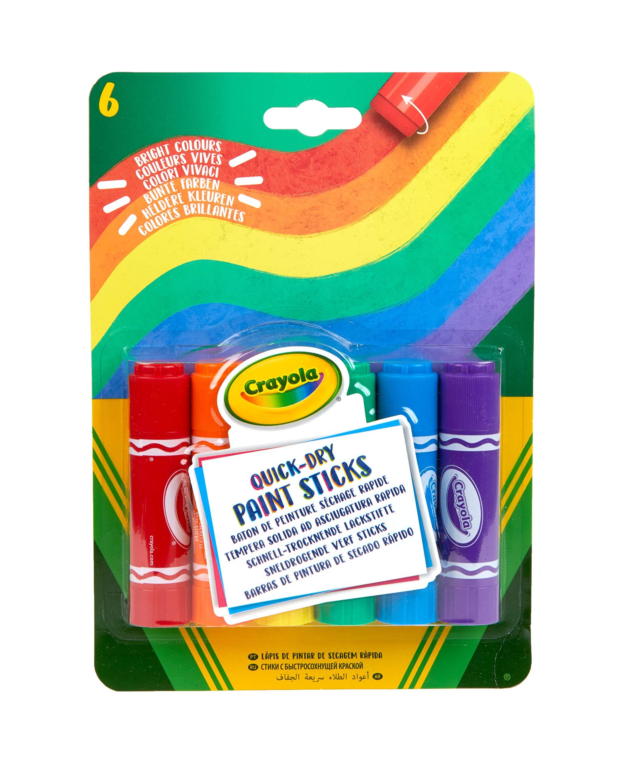 Crayola 6 Paint Sticks