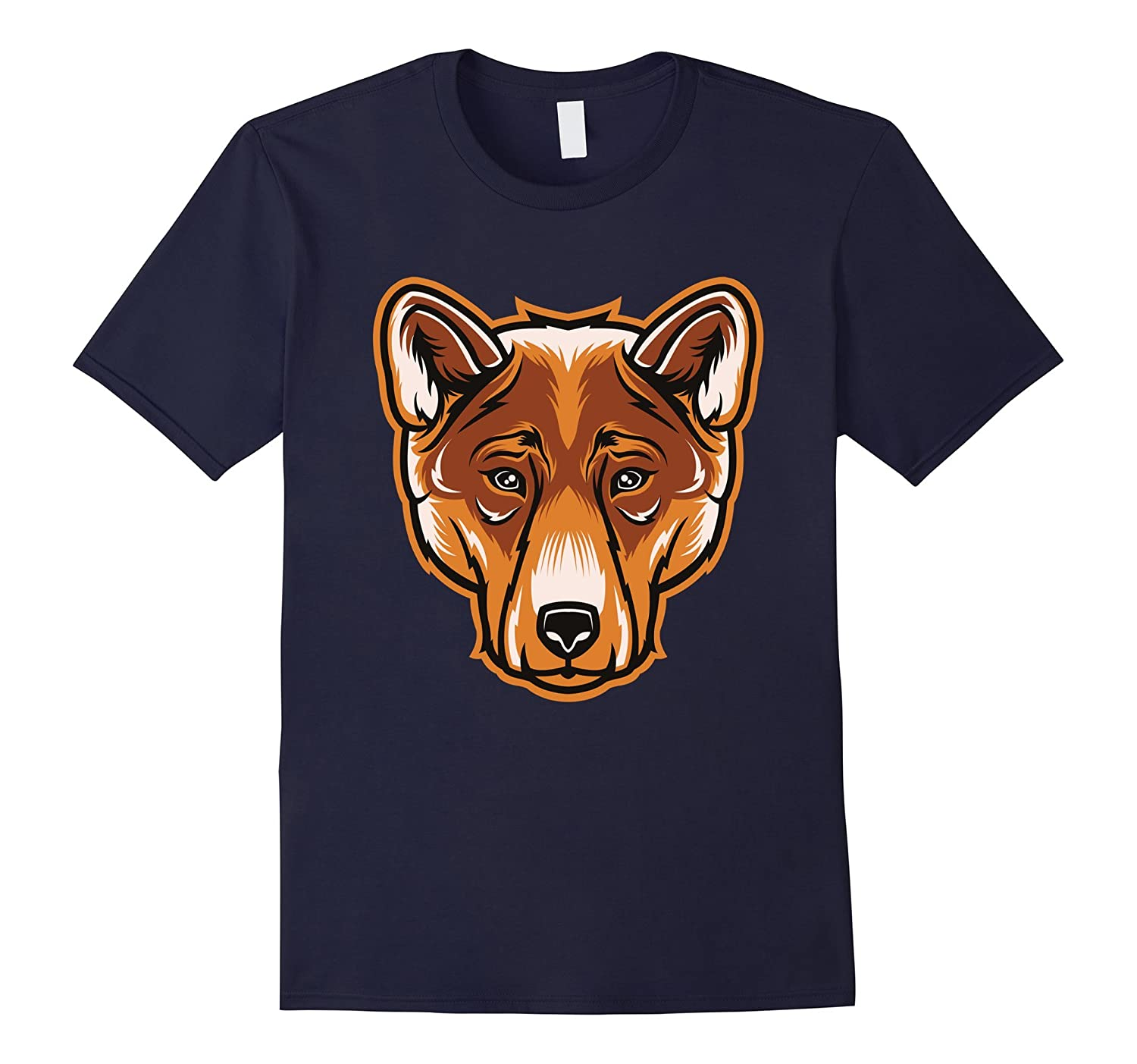 Dingo Wild Dog Australian Wildlife Animal T Shirt-TD