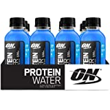 Optimum Nutrition Protein Water, Icy Blue Raspberry, 12 Count