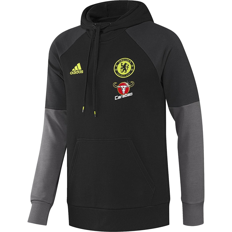 Adidas CFC HD SWT – Sweatshirt für Herren XS Negro Rojo Amarillo (Negro Granit Amasol)