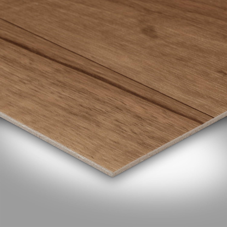 2-Stab Nussbaum 300 und 400 cm Breite Meterware verschiedene Gr/ö/ßen PVC Bodenbelag Holzoptik 200 Gr/ö/ße: 2,5 x 2 m