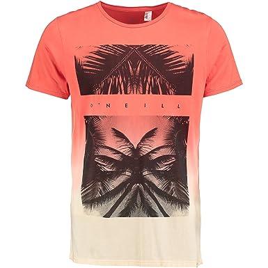 OŽNeill LM Tropicool T-Shirt - Camiseta para Hombre, Color Coral ...
