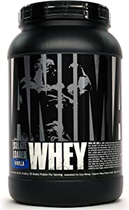 Animal Whey Isolate Whey Protein Powder – Isolate Loaded for Post Workout and Recovery – Low Sugar with Highly Digestible Whey Isolate Protein - Vanilla - 2 Pounds