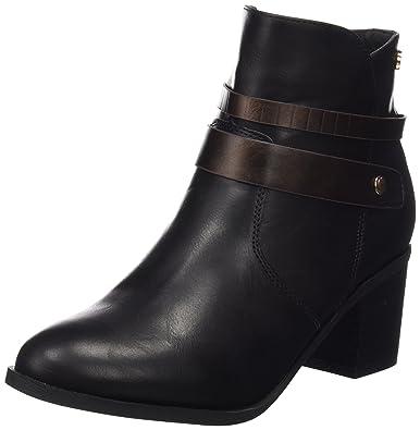 Xti - Chaussures Noires Femme Noire, Couleur Noire, Taille 36