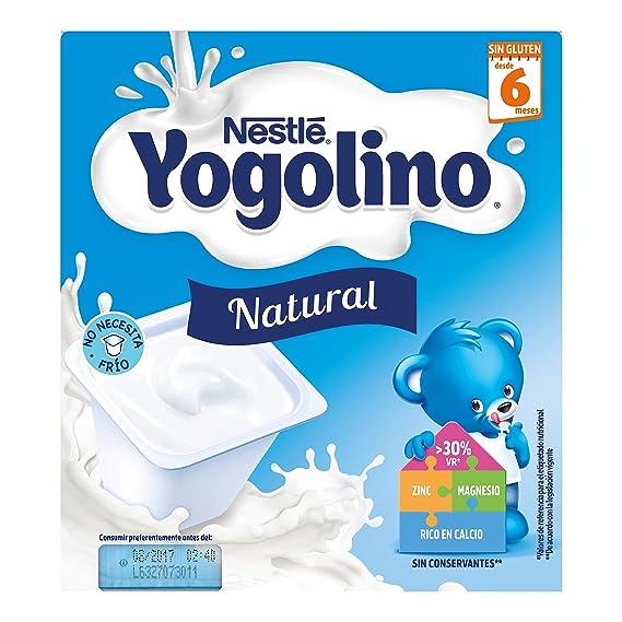 Iogolino - Natural A Partir De 6 Meses 4 x 100 g