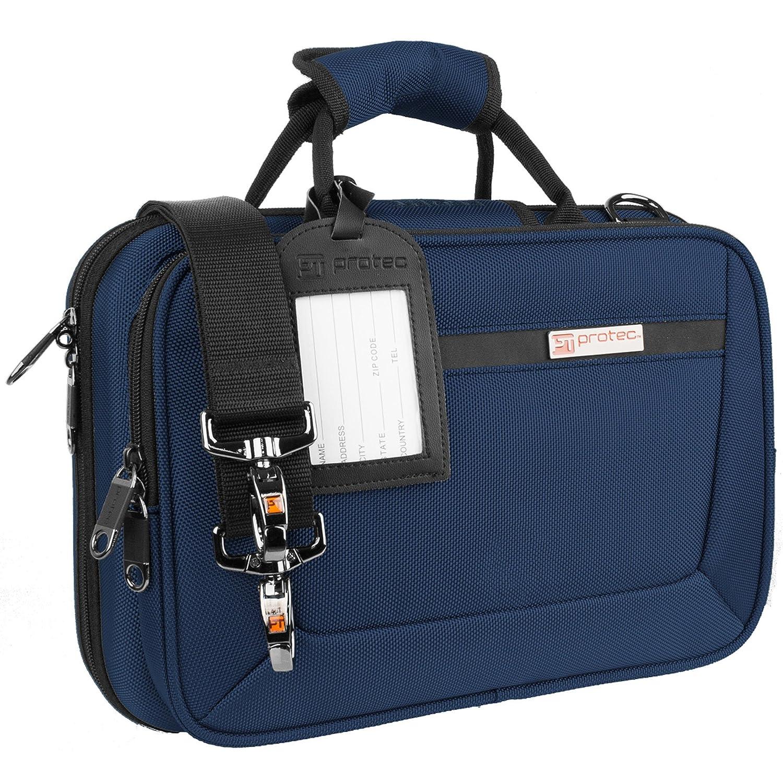 Protec Bb Clarinet Slimline PRO PAC Case, Blue PB307BX