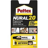 Pattex Nural 20, pegamento universal extre fuerte y resistentente, 22 ml