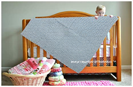 Manta de algodón para bebé recién nacido, diseño de zigzag, color ...