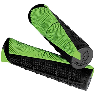 Scott Sports 217892-1043 Black/Green Duece ATV Grips: Automotive