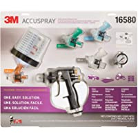 $197 » 3M 16580 Accuspray Paint Spray Gun System with Original PPS, Standard, 22 Ounces, 4 Nozzles