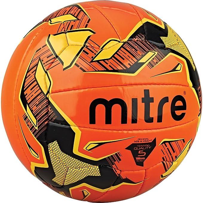 Mitre Malmo - Balón de fútbol, Unisex, Malmo, Naranja y Amarillo ...
