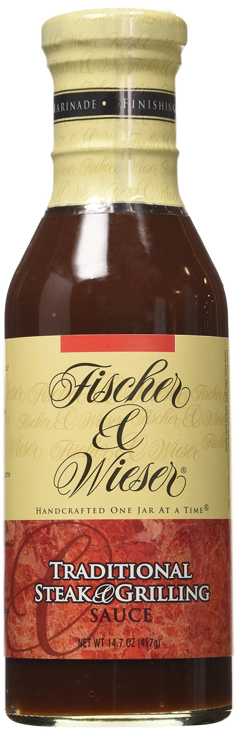 Fischer & Wieser Specialty Foods Traditional Steak and Grilling Sauce, 14.7 Ounce
