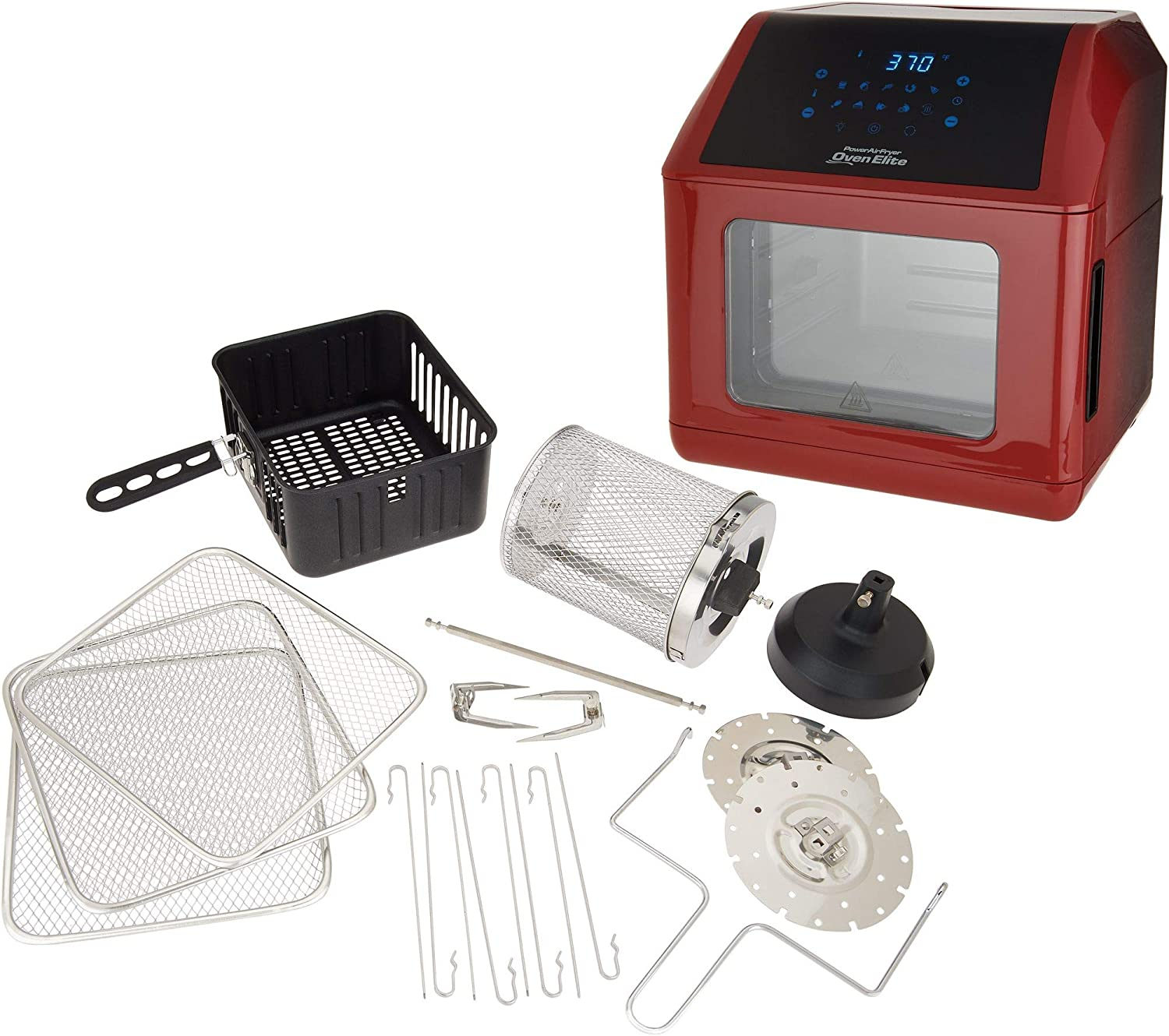 Power Air Fryer Oven Elite 6-qt with Accessories Model K48216