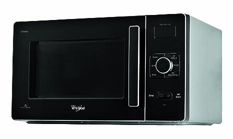 Whirlpool Gusto - Horno microondas con grill, color negro y ...