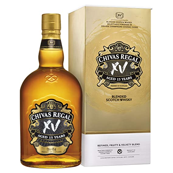 59a1f8fb9 Chivas Regal XV Scotch Whisky, 70 cl: Amazon.co.uk: Grocery