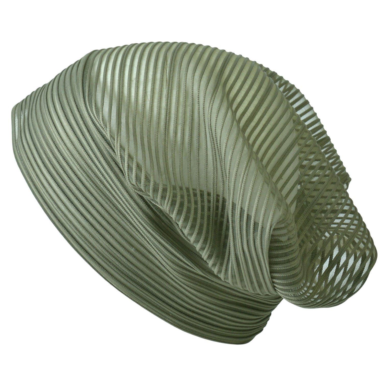 Casualbox | Womens Summer Beanie Hat Fashion Mesh Fabric Light Weight Thin Cute 4589777964341