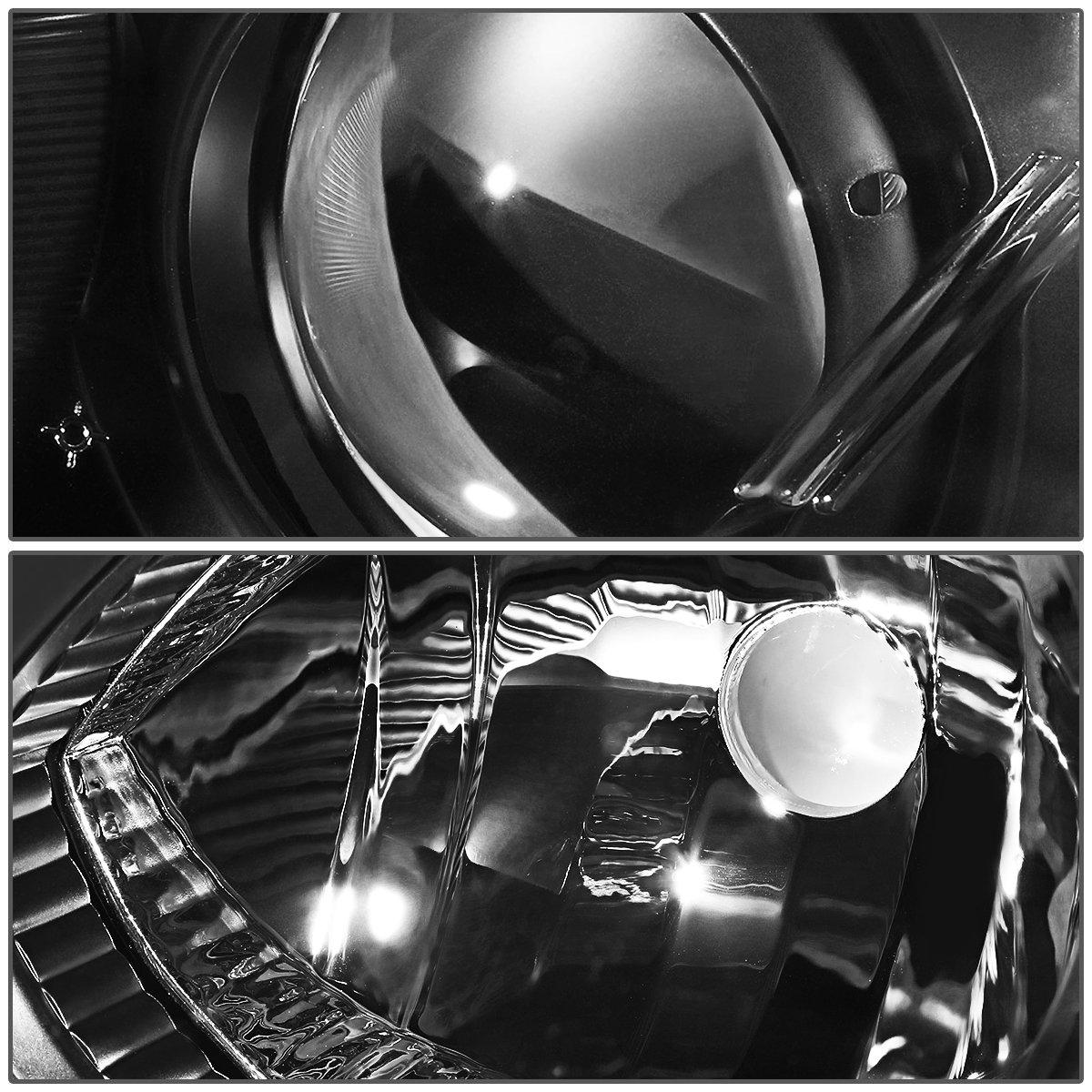 DNA Motoring HL-OH-MM304-BK-AM Headlight Driver /& Passenger Side