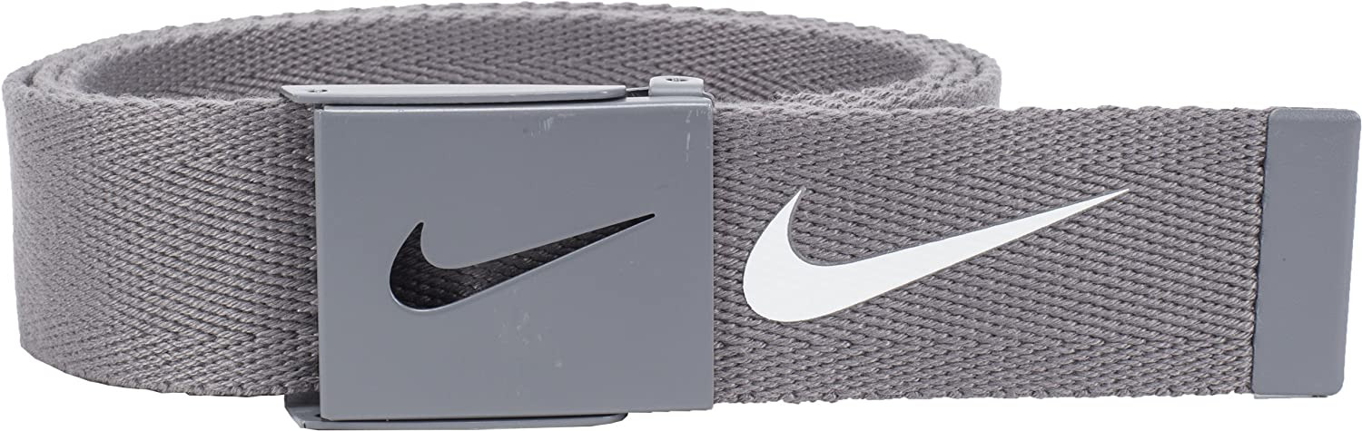Nike Mens Performance Tech Essentials Golf Single Web Belt One Size