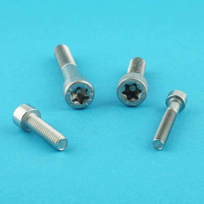 Eisenwaren2000 5 St/ück DIN 912 Gewindeschrauben Zylinderschrauben mit Innensechsrund TX M8 x 20 mm rostfrei - Zylinderkopf Schrauben ISO 14579 Edelstahl A2 V2A