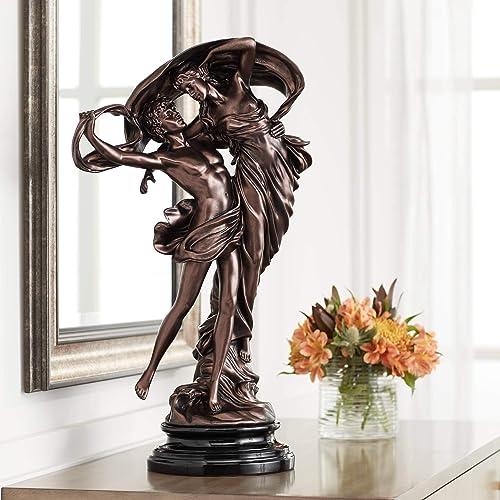Kensington Hill Floating Dancing Couple Bronze Finish 25 3 4 High Sculpture