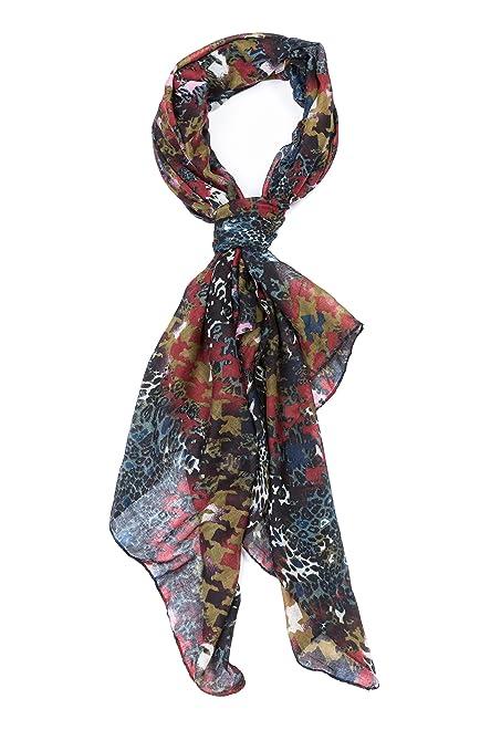 e6c897f4a84c ColmagBoutique Grand Foulard Écharpe Femme  Amazon.fr  Vêtements et  accessoires