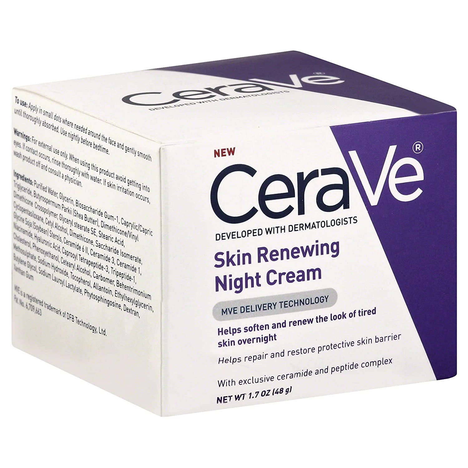 CeraVe 1.7 Ounce Skin Renewing Night Cream