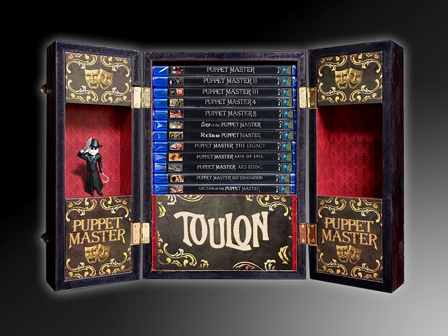 PUPPET MASTER COLLECTION Toulon's Ultimate Collectible Trunk Set
