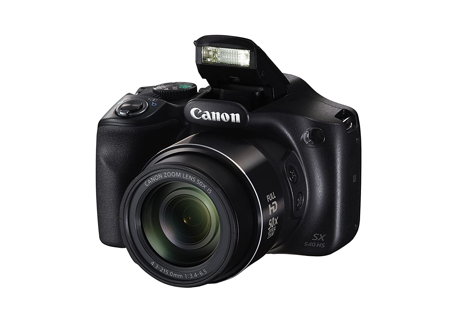 Canon PowerShot SX540 IS with 50x Optical Zoom and Built-In Wi-Fi Canon Canada (Direct) 1067C001