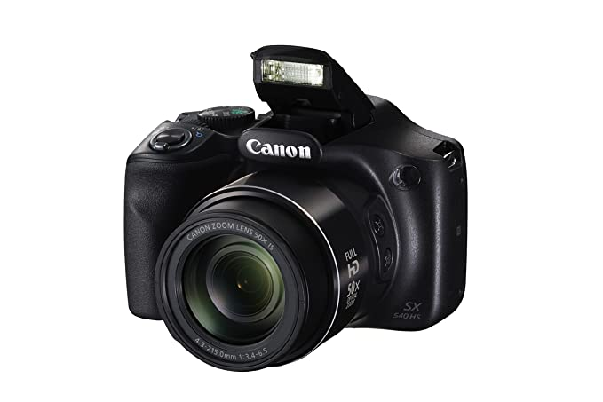 Canon PowerShot SX540 HS with 50x Optical Zoom and Built-In Wi-Fi Point & Shoot Digital Cameras at amazon