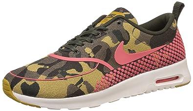 Nike Womens W Air Max Thea JCRD PRM Desert Camohot Lava