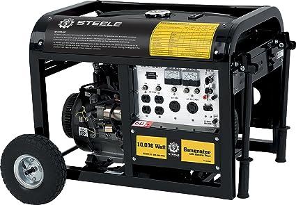 amazon com steele products sp gg1000e 10,000 watt 4 cycle gas