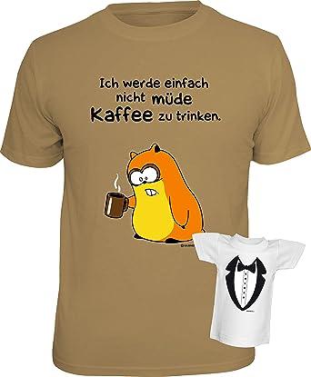Lustiges Comic Spruche T Shirt Kaffee Geschenkset Ich Werde