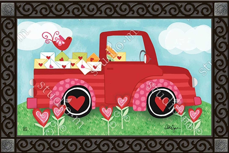 Special Delivery Valentine MatMates Doormat #13407